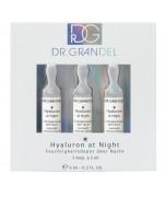 Aktyvaus koncentrato ampulės Hyaluron at Night, 3 vnt. x 3 ml