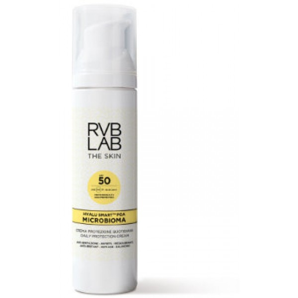 RVB LAB Microbioma kasdienis apsauginis kremas su SPF50, 50ml