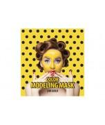 SHE'S LAB 24K alginatinė kaukė su aukso dulkėmis, 30 + 8 g