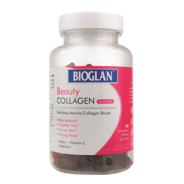 Beauty Collagen guminukai, braškių skonio, 60 vnt, 141 g