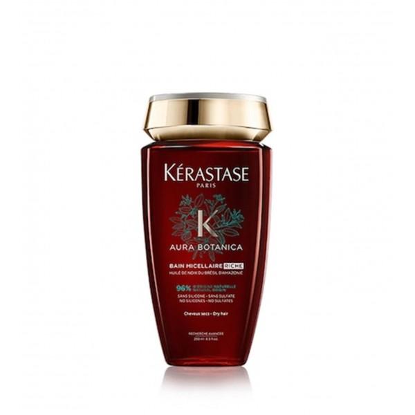 Ekologiškas šampūnas sausiems plaukams AURA BOTANICA RICHE BAIN, 250 ml